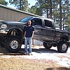 "2003 Ford F250 Doublecab Deisel with 14"" lift by archery87"