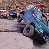 Coming down Moab Rim EJS 2005 by Bobzooki