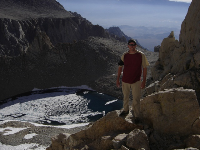 Solo of E. Butress, Mt. Whitney