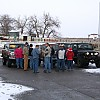 Group getting ready to leave for Toys for Tots