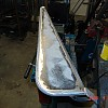 cj flat fender build - smoothed welds by Ohana Fab
