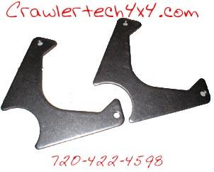 Crawlertech 4x4 weld on caliper brackets