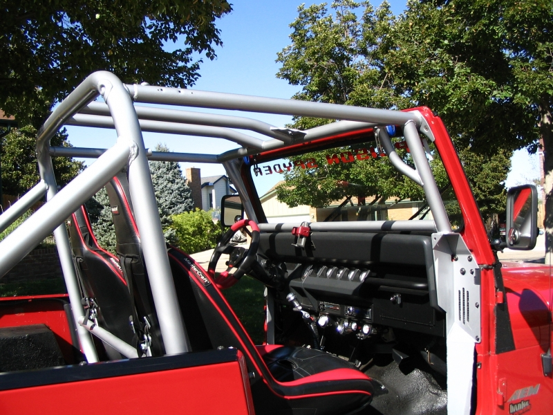 P.S. YJ Trail Cage