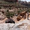 """Axle Hill"" Prichett Canyon - Moab by Bike Guy"