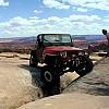 """THE CRACK"" Golden Spike Trail - Moab by Bike Guy"