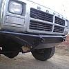 Front Dodge Ram Custom Bumper