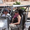 Hubby and I on Coyote in Moab by MAMA